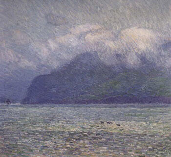 The Silver Veil and The Golden Gate By Childe Hassam - Oil Paintings & Art Reproductions - Reproduction Gallery
