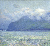 The Silver Veil and The Golden Gate By Childe Hassam