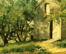 White Barn 1882 By Childe Hassam
