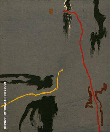 1943 A By Clyfford Still Replica Paintings on Canvas - Reproduction Gallery