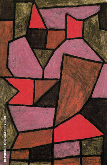 Double Doppel 1940 Painting By Paul Klee - Reproduction Gallery