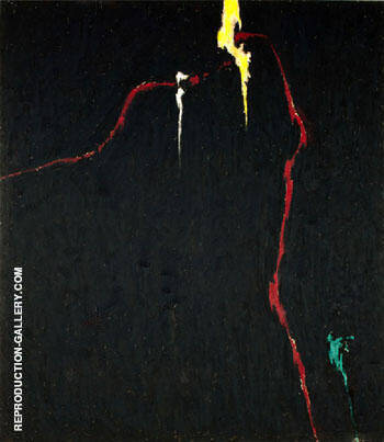 1944 N No 1 By Clyfford Still Replica Paintings on Canvas - Reproduction Gallery