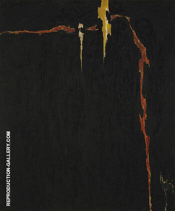 1944 N No 2 Painting By Clyfford Still - Reproduction Gallery