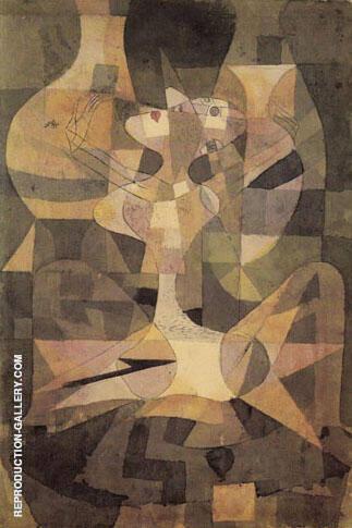 Aphrodites Vases or Ceramic Erotic Religious 1921 By Paul Klee