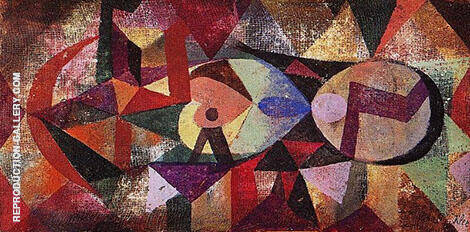 Ab Ovo 1917 By Paul Klee Replica Paintings on Canvas - Reproduction Gallery