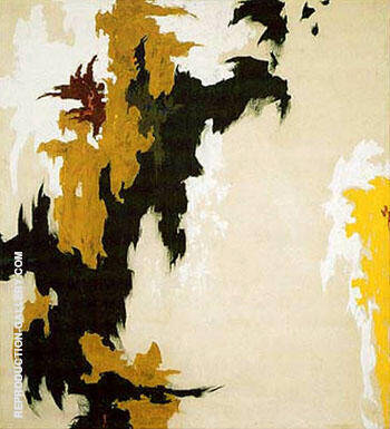 1947 J By Clyfford Still Replica Paintings on Canvas - Reproduction Gallery