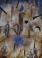 Warning of the Ships 1917 By Paul Klee