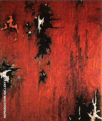 1947 R No 2 By Clyfford Still Replica Paintings on Canvas - Reproduction Gallery