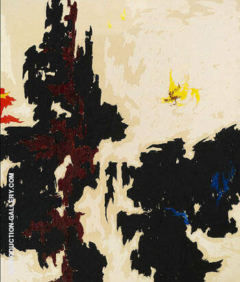 1947 Y No 2 Painting By Clyfford Still - Reproduction Gallery