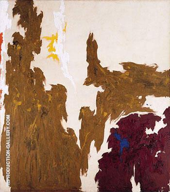 1948 A By Clyfford Still Replica Paintings on Canvas - Reproduction Gallery