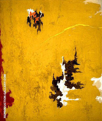 1948 C By Clyfford Still Replica Paintings on Canvas - Reproduction Gallery