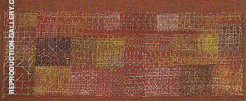 Pastoral Rhythms 1927 By Paul Klee - Oil Paintings & Art Reproductions - Reproduction Gallery