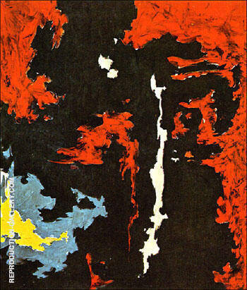 1949 B By Clyfford Still Replica Paintings on Canvas - Reproduction Gallery