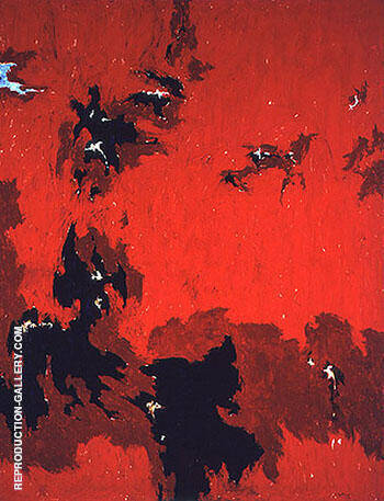 1949 No 1 By Clyfford Still Replica Paintings on Canvas - Reproduction Gallery