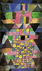 Architectural Script 1918 By Paul Klee