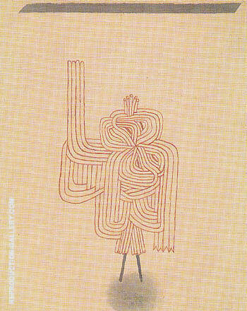 Oath of Ghosts 1930 By Paul Klee
