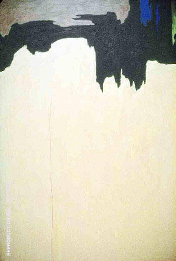1950 C By Clyfford Still Replica Paintings on Canvas - Reproduction Gallery