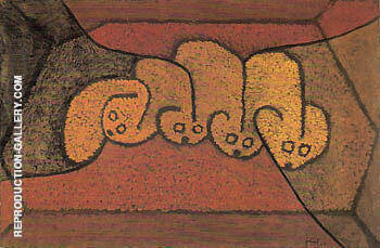 Shelter for Four 1913 By Paul Klee