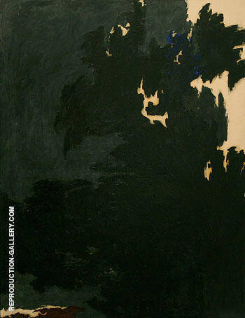 1950 E By Clyfford Still Replica Paintings on Canvas - Reproduction Gallery