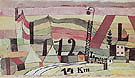 Station L122 14km 1920 By Paul Klee