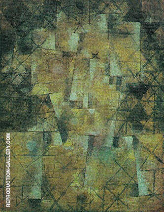 The God of the Northern Forest 1922 By Paul Klee