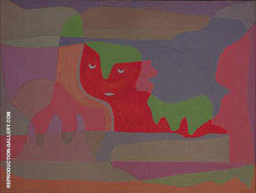 Sphinx at Rest 1934 By Paul Klee