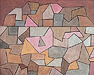 Village on Rocks 1932 By Paul Klee