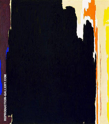 1951 T No 2 By Clyfford Still