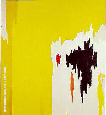 Reproduction of 1956 J by Clyfford Still | Oil Painting Replica On CanvasReproduction Gallery