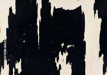 1957 D No 2 By Clyfford Still