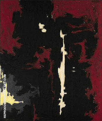 1949 A No 1 Painting By Clyfford Still - Reproduction Gallery
