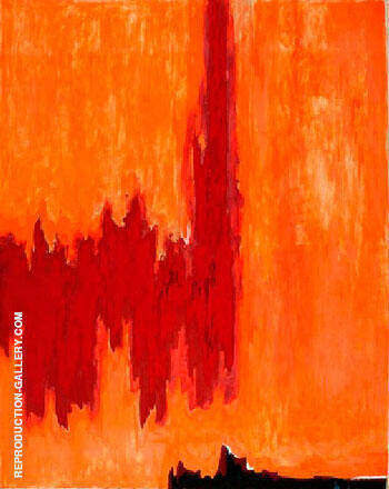 Reproduction of 1952 PH 4 by Clyfford Still | Oil Painting Replica On CanvasReproduction Gallery