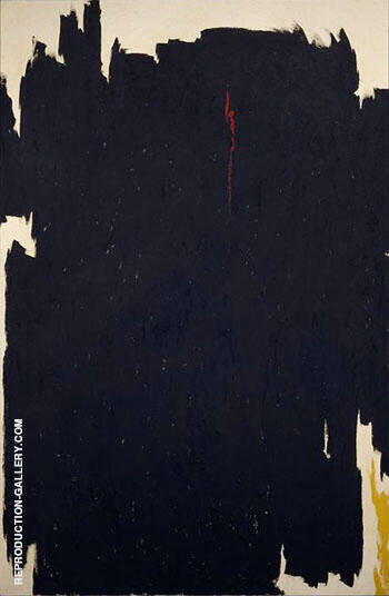 1960 A By Clyfford Still Replica Paintings on Canvas - Reproduction Gallery