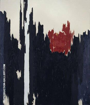 1960 R By Clyfford Still