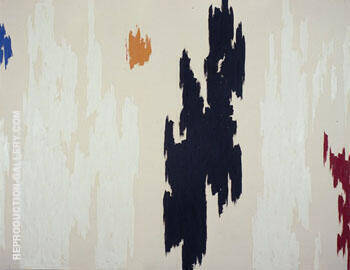 1962 D By Clyfford Still Replica Paintings on Canvas - Reproduction Gallery