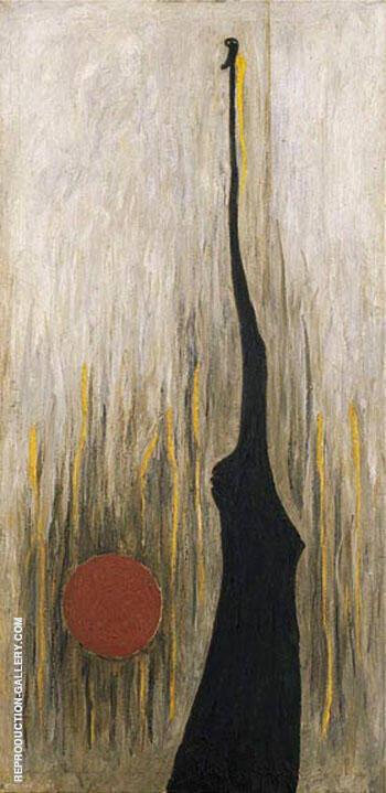 Jamias 1944 By Clyfford Still Replica Paintings on Canvas - Reproduction Gallery