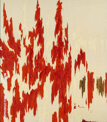 PH 1033 1976 Painting By Clyfford Still - Reproduction Gallery