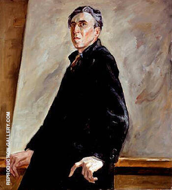 Self Portrait PH 382 1940 By Clyfford Still