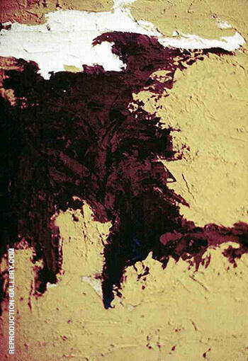 Untitled 1948 By Clyfford Still
