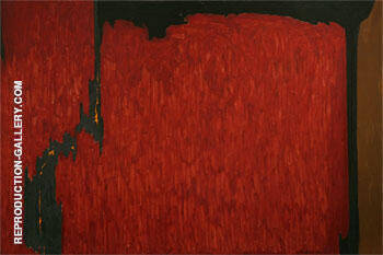 Untitled 1950 Painting By Clyfford Still - Reproduction Gallery