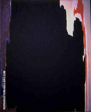 Reproduction of Untitled 1951 A by Clyfford Still | Oil Painting Replica On CanvasReproduction Gallery