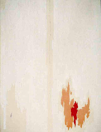 Reproduction of Untitled 1953 by Clyfford Still | Oil Painting Replica On CanvasReproduction Gallery