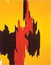 Untitled 1954 By Clyfford Still