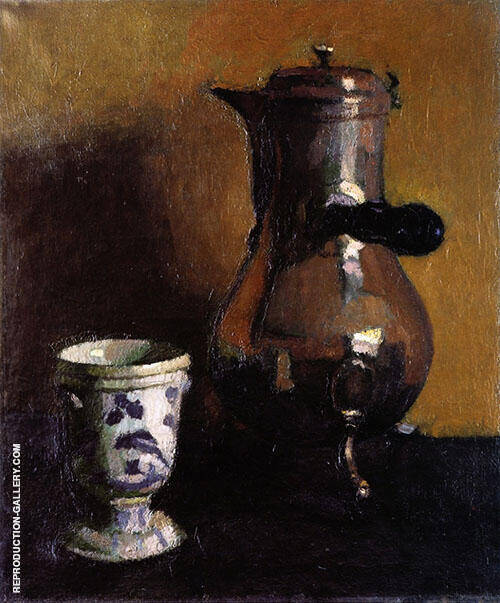 La Cafetiere 1902 By Albert Marquet Replica Paintings on Canvas - Reproduction Gallery