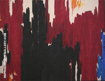 Untitled 1960 By Clyfford Still