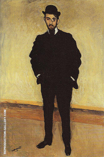 Andre Rouveyre 1904 Painting By Albert Marquet - Reproduction Gallery