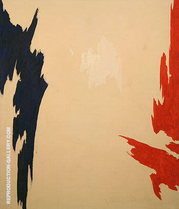 Untitled 1965 By Clyfford Still