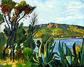 Vue d Agay 1905 By Albert Marquet