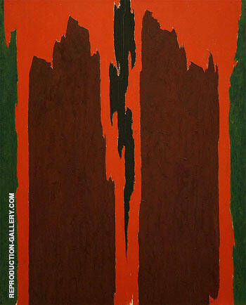 Untitled 1971 By Clyfford Still Replica Paintings on Canvas - Reproduction Gallery