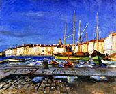 Port de Saint Tropez 1905 By Albert Marquet
